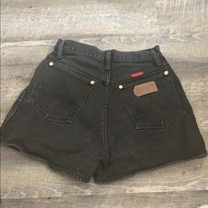 Wrangler Shorts - Vintage Wrangler High-Waisted Shorts